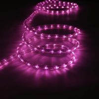 Cut to Length Outdoor & Indoor LED Rope Light Pink